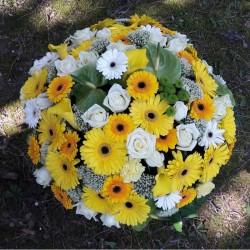 Kissen aus Blumen