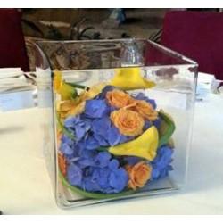 Cube de fleurs